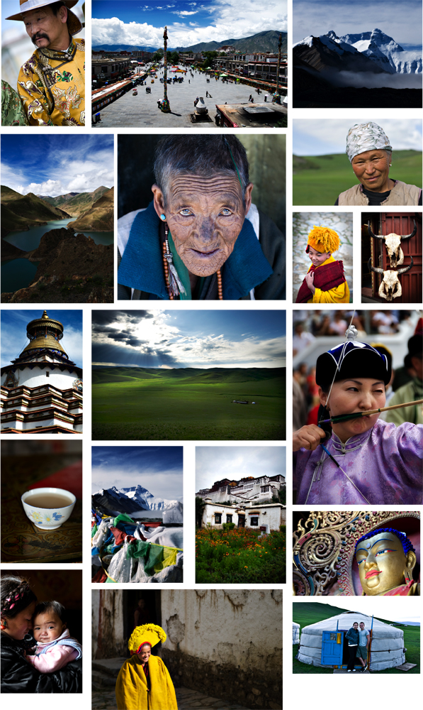 Mongolia Collage