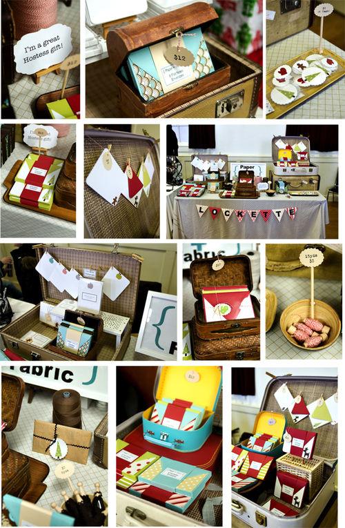 Craft Fair Table 2008