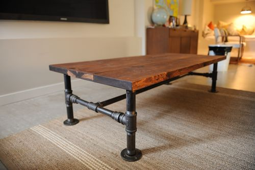 Charmant DIY Industrial Coffee Table