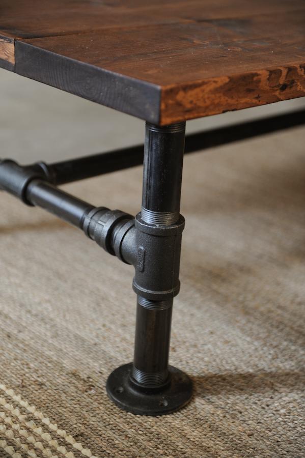 DIY Industrial Coffee Table The Locker