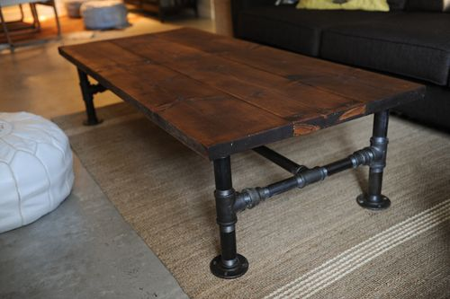 diy industrial coffee table – priscilla locke